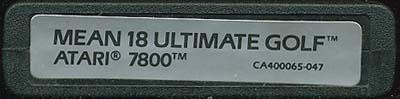Mean 18 Ultimate Golf - Cartridge Scan
