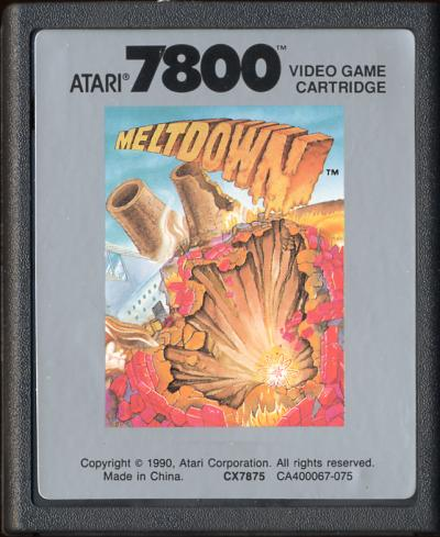 Meltdown - Cartridge Scan