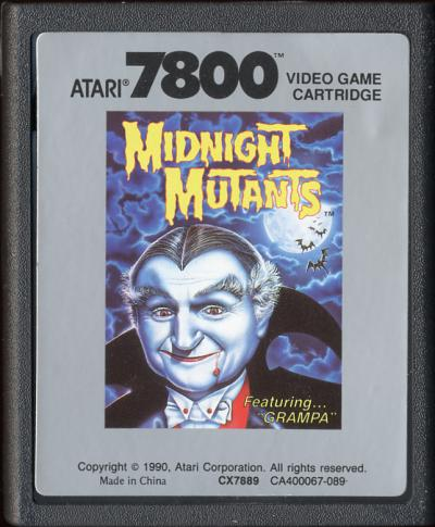 Midnight Mutants - Cartridge Scan