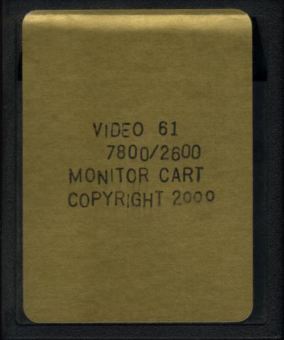 Monitor Cartridge - Cartridge Scan