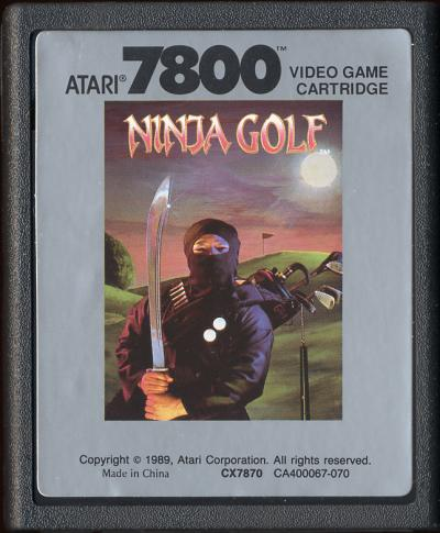 Ninja Golf - Cartridge Scan