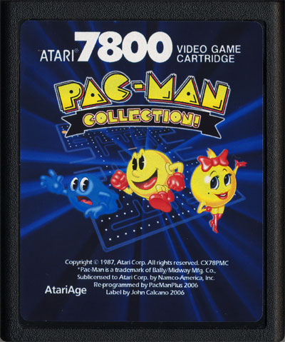 Pac-Man Collection - Cartridge Scan