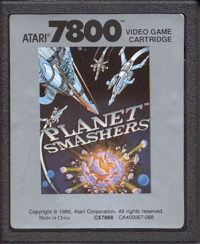 Planet Smashers - Cartridge Scan