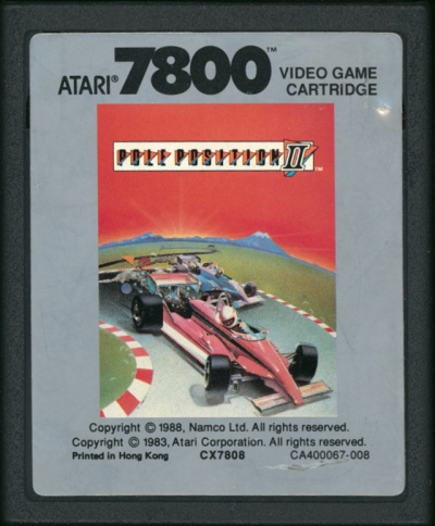 Pole Position II - Cartridge Scan
