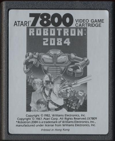 Robotron: 2084 - Cartridge Scan