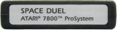 Space Duel - Cartridge Scan