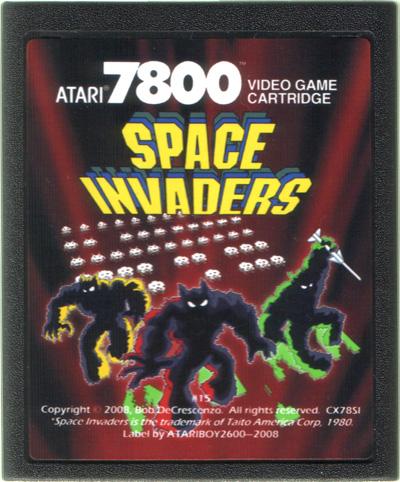 Space Invaders - Cartridge Scan