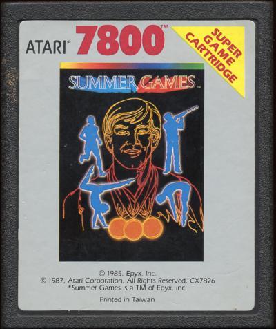 Summer Games - Cartridge Scan