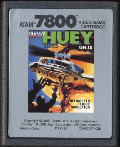 Super Huey - Cartridge Scan