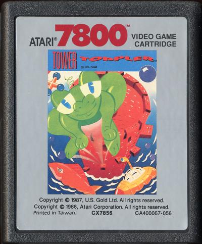 Tower Toppler - Cartridge Scan
