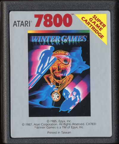 Winter Games - Cartridge Scan