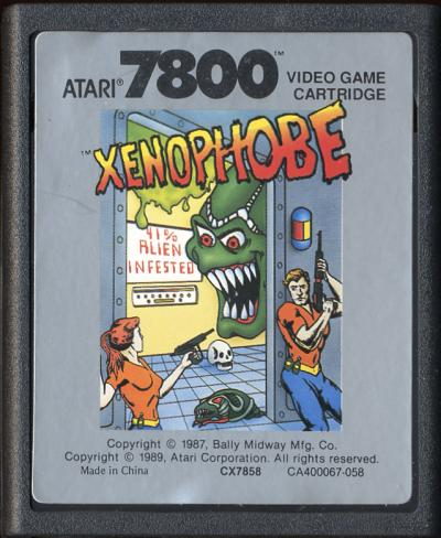 Xenophobe - Cartridge Scan