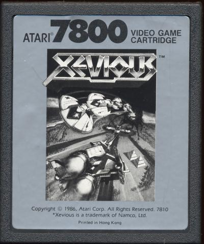 Xevious - Cartridge Scan