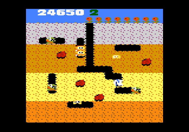 Dig Dug - Screenshot