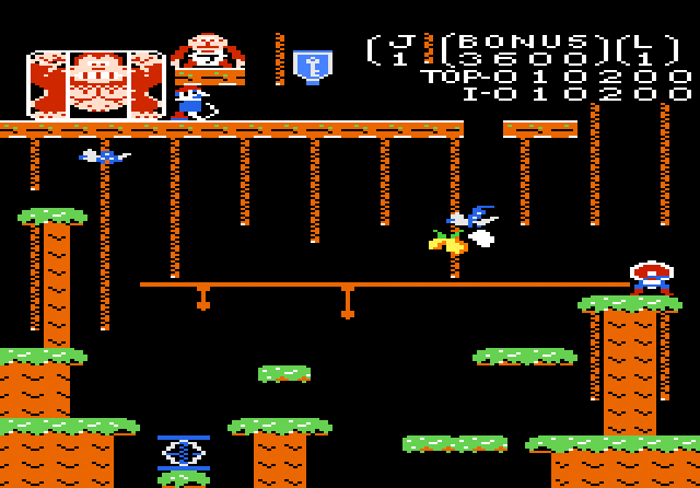 Donkey Kong Junior - Screenshot