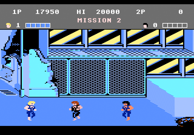 Double Dragon - Screenshot