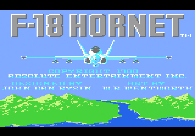 F-18 Hornet - Screenshot