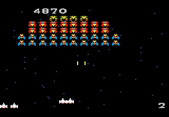 Galaga - Screenshot