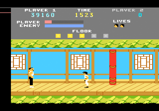 Kung-Fu Master - Screenshot