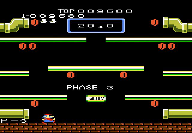 AtariAge - Atari 7800 Screenshots - Mario Bros. (Atari)