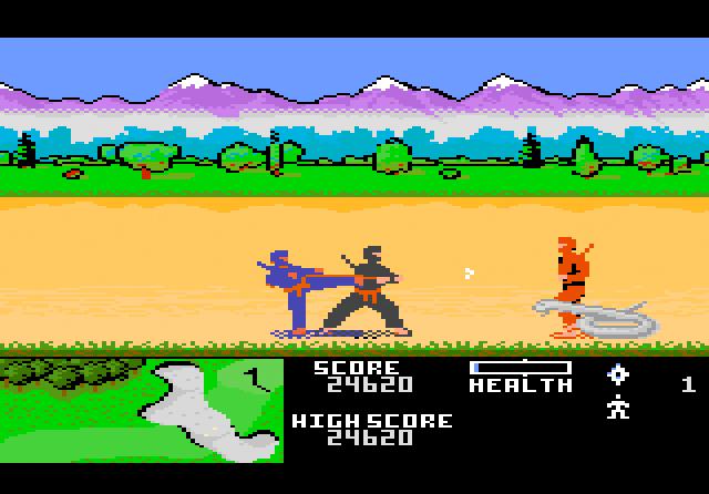 Ninja Golf - Screenshot