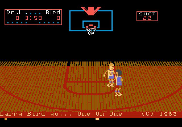 One-on-One Basketball - Screenshot