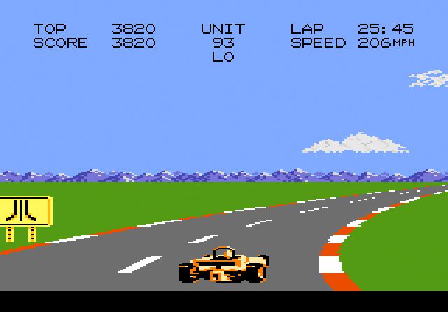 Pole Position II - Screenshot