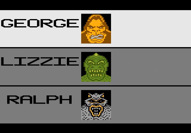 Rampage - Screenshot