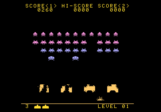 Space Invaders - Screenshot