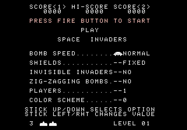 Space Invaders - Screenshot