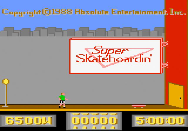 Super Skateboardin' - Screenshot