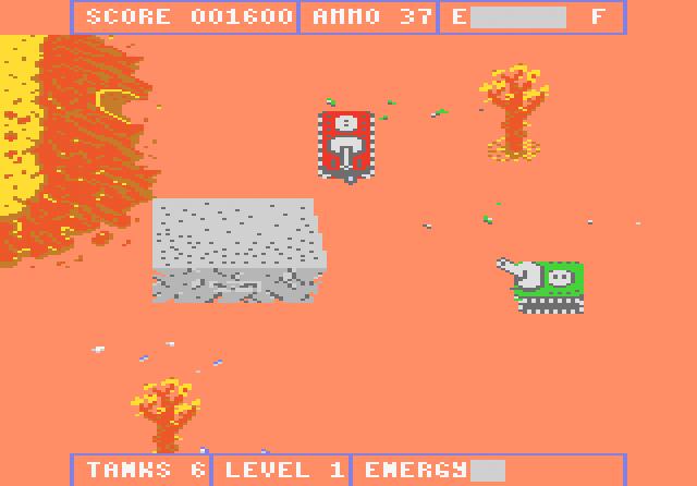 Tank Command - Screenshot