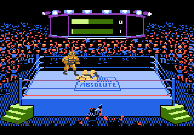 Title Match Pro Wrestling - Screenshot