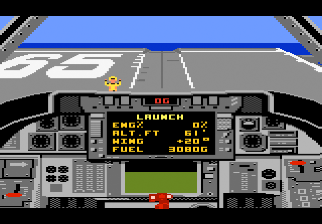 Tomcat: The F-14 Fighter Simulator - Screenshot