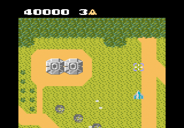 Xevious - Screenshot