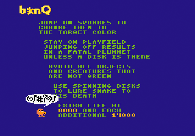 b*nQ - Screenshot