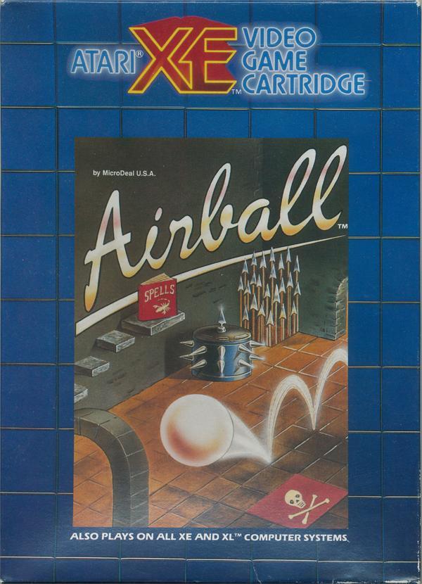 Atariage Atari 800 Xl Xe Airball Atari