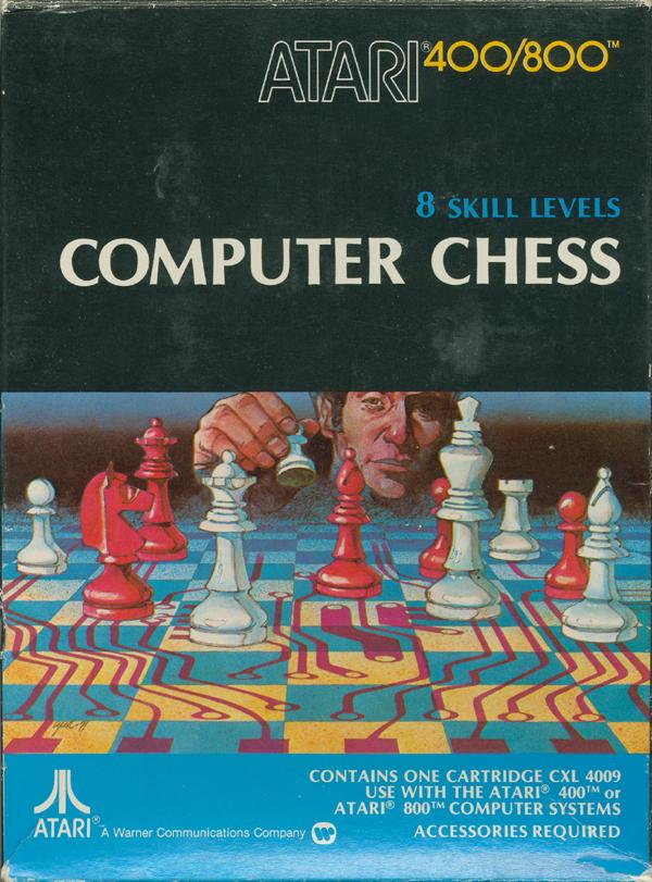 Computer Chess - Box Front