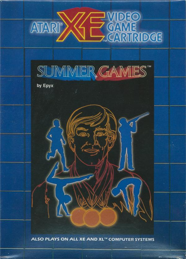 Summer Games - Box Front