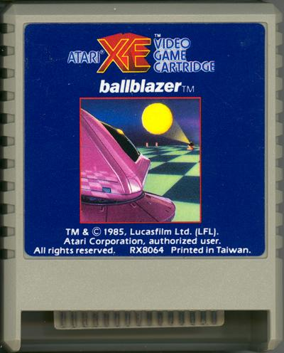 Ballblazer - Cartridge Scan