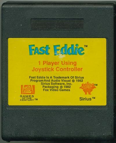 Fast Eddie - Cartridge Scan