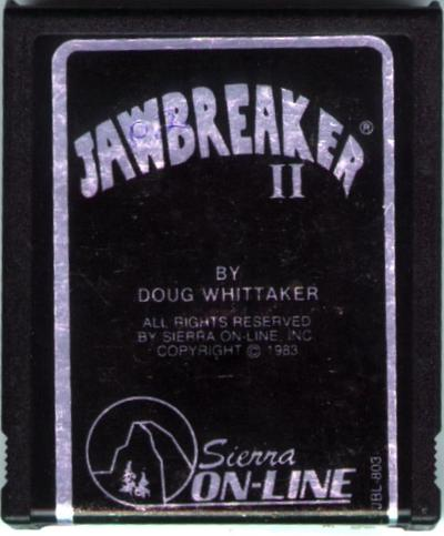 Jawbreaker II - Cartridge Scan