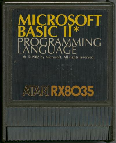 Microsoft BASIC II - Cartridge Scan