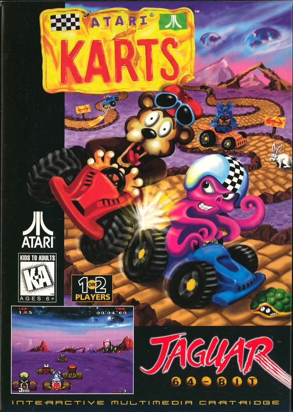 Atari Karts - Box Front