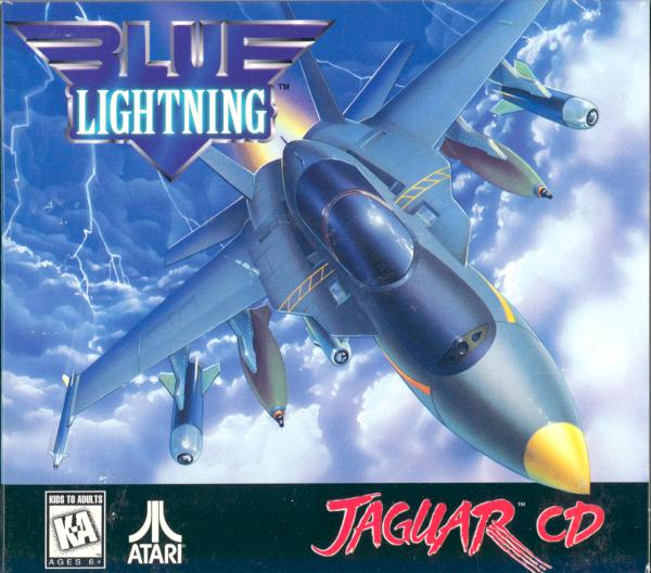 Blue Lightning - Box Front