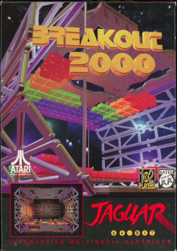 Breakout 2000 - Box Front
