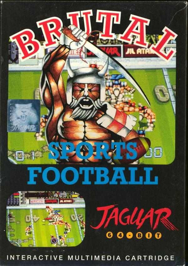 Brutal Sports Football - Box Front