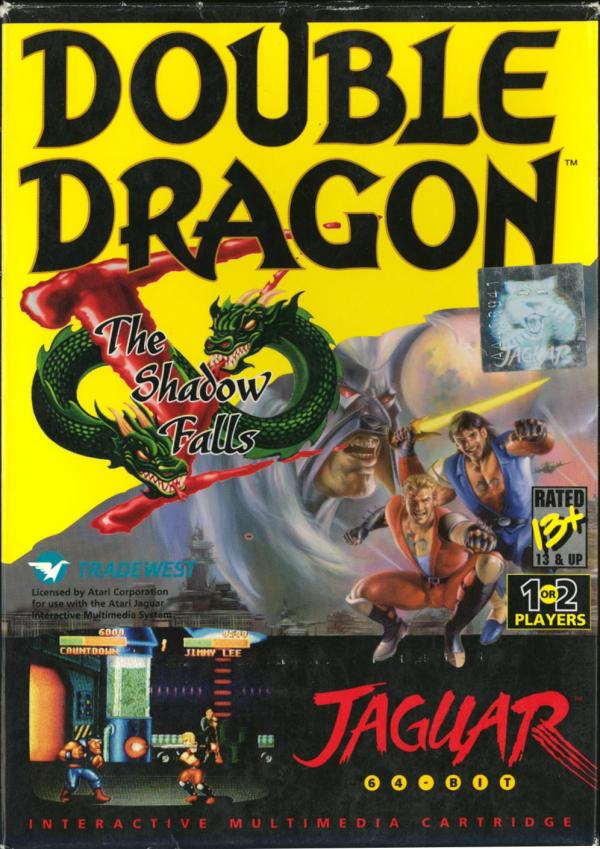 Double Dragon V - Box Front