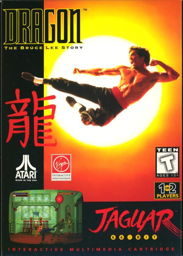 Dragon: The Bruce Lee Story - Box Front