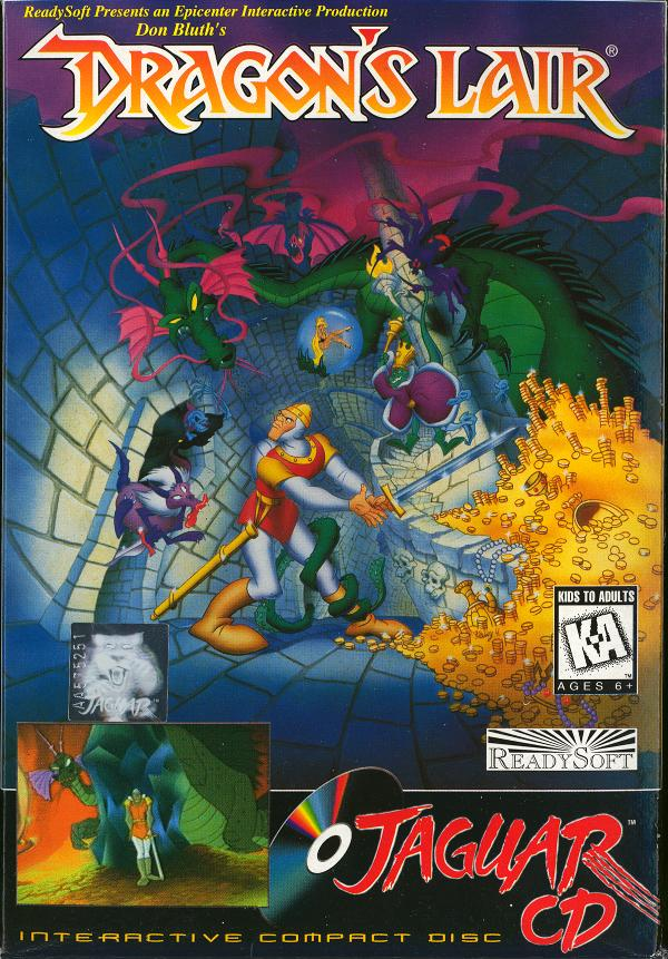 Dragon's Lair - Box Front